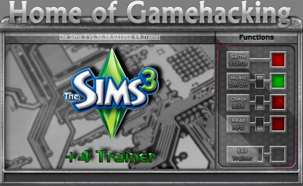 The Sims 3 1.50.56 +4 Trainer [HoG]