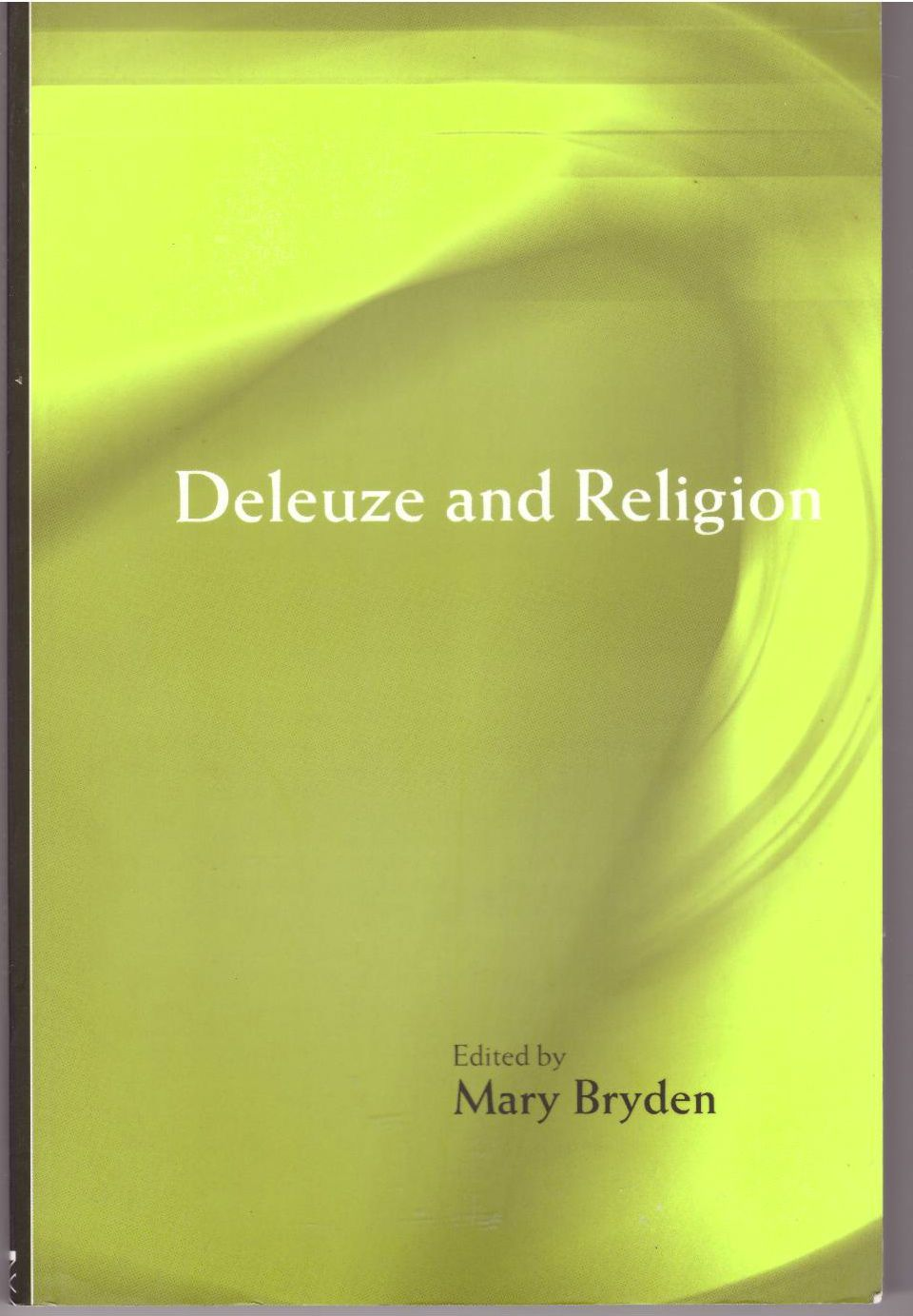 Deleuze and Religion, Bryden, Mary