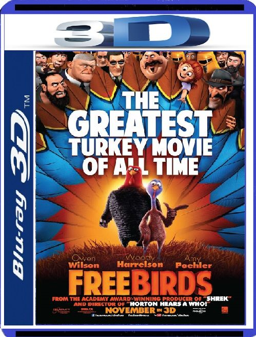 Kahraman İkili - Free Birds - 2013 3D Half-OU BluRay 1080p DuaL MKV indir