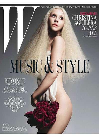 Christina Aguilera W Cover