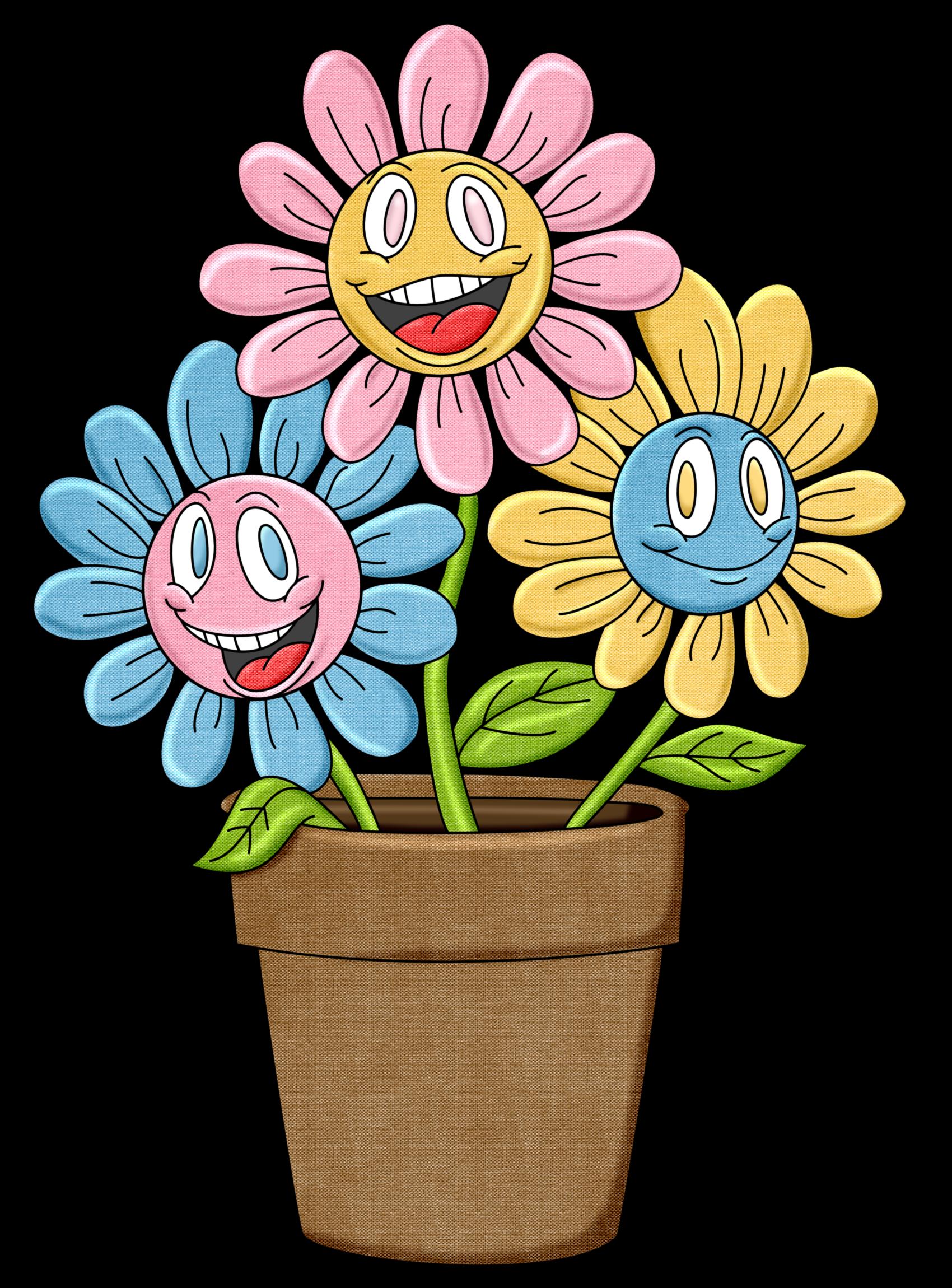 Maceta de flores - Flores de maceta ...