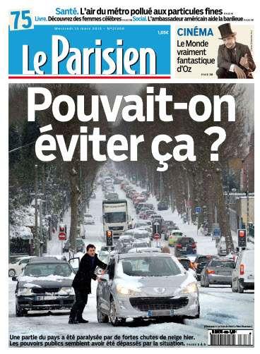 Le Parisien Mercredi 13 Mars 2013
