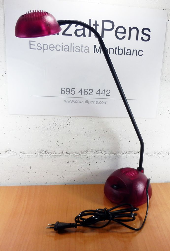 """LAMPARA HALOGENA """"HANSA"""" ROJA -50%, 24 €"""