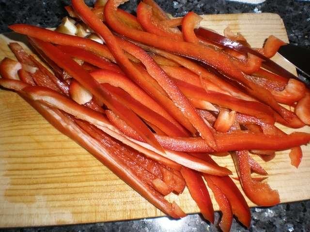 taq9h - Fajitas de pollo y verdura