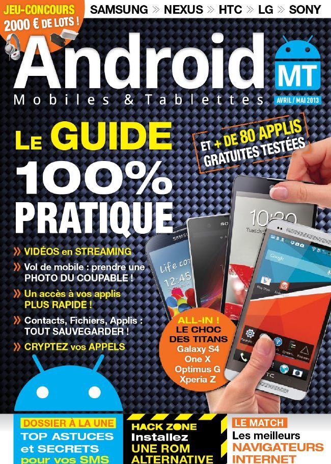 Android Mobiles & Tablettes N°18 Avril Mai 2013