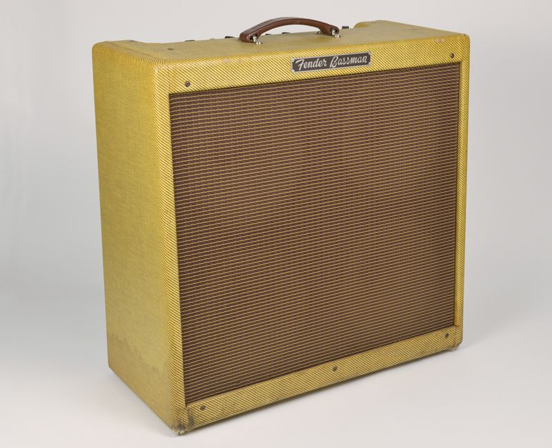 vintage 1960 pre cbs fender 5f6 a bassman tweed guitar bass amp amplifier 100 ebay. Black Bedroom Furniture Sets. Home Design Ideas