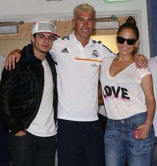 Jennifer Lopez y Serio Ramos